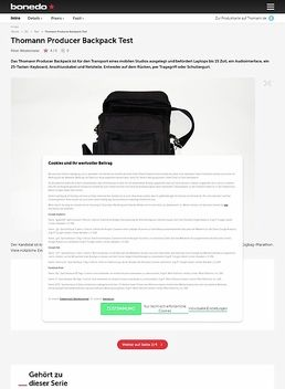 Producer Backpack
