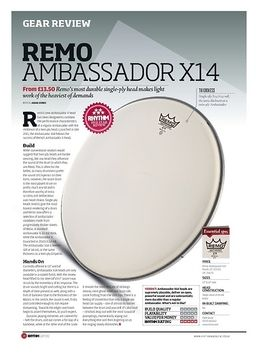 "14"" Ambassador X14 Coated"