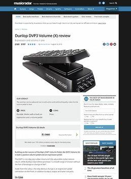 DVP 3 Volume (X) Pedal