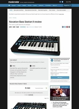 Bass Station II