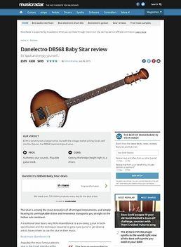 DBS68 Reissue Baby Sitar SB