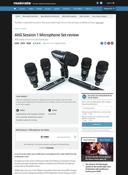 AKG Session 1 Microphone Set