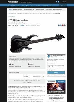 LTD FRX-401 BLK