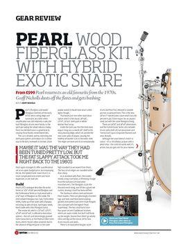 Wood Fiberglass Set Platinum