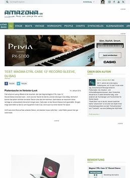 Test: Magma CTRL Case 12'' Record Sleeve, DJ-Bag
