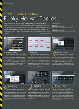 Cubase - Funky House-Chords