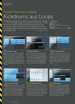 Cubase - Kickdrums aus Loops