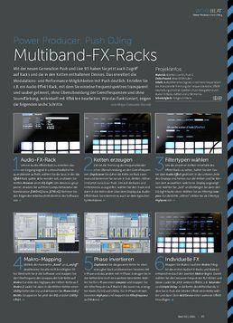 Push DJing - Multiband-FX-Racks