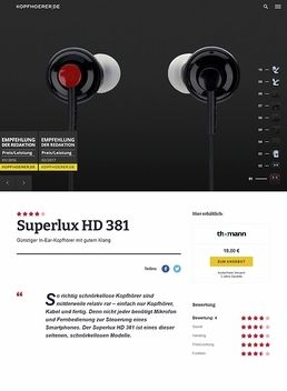 Superlux HD 381