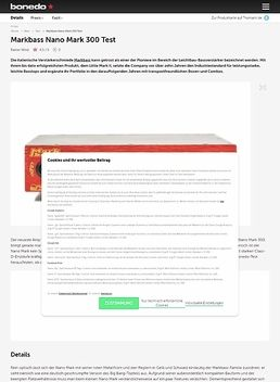 Nano Mark 300 Head