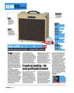 Blues Cube Hot BK