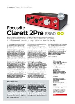 Focusrite Clarett 2Pre