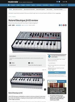 Roland Boutique JX-03