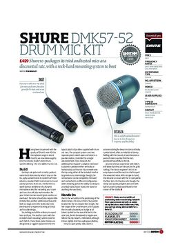 Shure DMK57 52 Drum Mic Kit