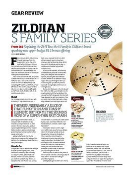 Zildjian S Family Series