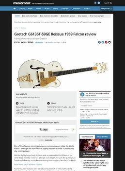 Gretsch G6136T-59GE Reissue 1959 Falcon