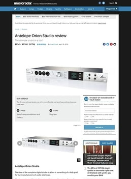 Antelope Orion Studio