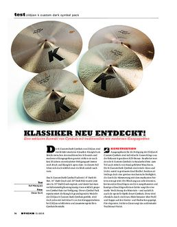 Zildjian K Custom Dark Cymbal Pack