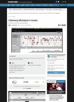CelemonyMelodyne 4