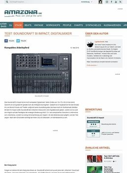 Test: Soundcraft Si Impact, Digitalmixer