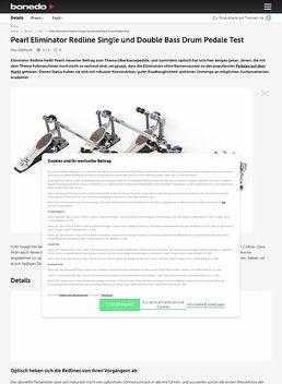 Pearl Eliminator Redline Single und Double Bass Drum Pedale