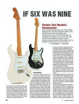 Fender Jimi Hendrix Stratocaster, E-Gitarre