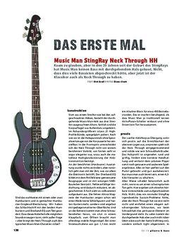 Music Man StingRay Neck Through HH, E-Bass