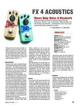 Mooer Baby Water & Woodverb, Acoustic-Effekte