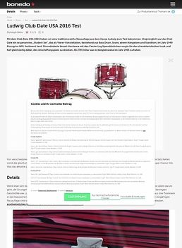 Ludwig Club Date USA 2016