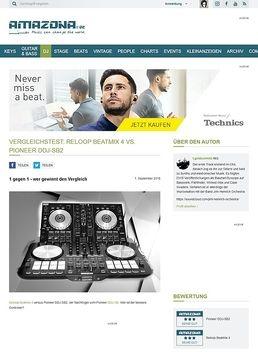Vergleichstest: Reloop Beatmix 4 vs. Pioneer DDJ-SB2