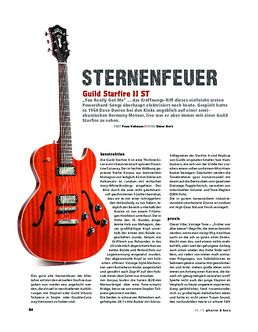 Guild Starfire II ST, E-Gitarre