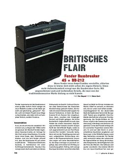 Bassbreaker 45 Combo