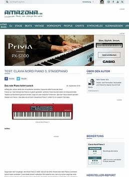 Test: Clavia Nord Piano 3, Stagepiano