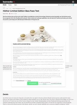 Höfner Limited Edition Bass Fuzz