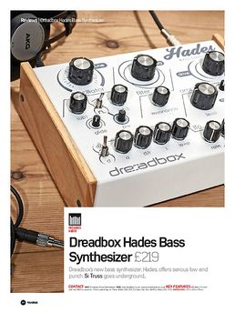 Dreadbox Hades Bass Synthesizer