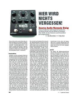 Source Audio Nemesis Delay, Effekt-Pedal