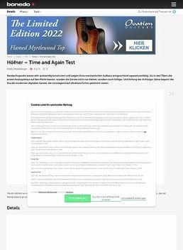 Höfner Limited Analog Delay