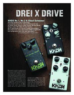 KHDK No.1, No.2 & Ghoul Screamer, OD-Pedale
