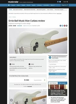 Ernie Ball Music Man Cutlass