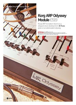 Korg ARP Odyssey Module