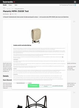 Marantz MPM-3500R