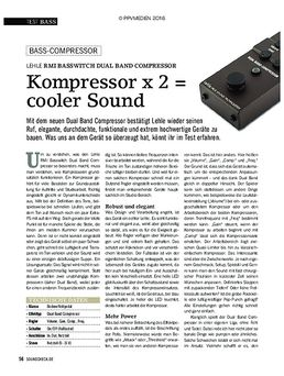 Lehle RMI BasswItch Dual Band Compressor