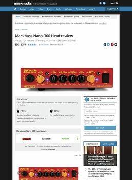 Markbass Nano 300 Head