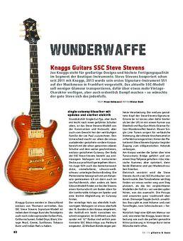 Knaggs Guitars SSC Steve Stevens