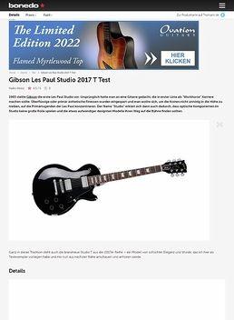 Gibson Les Paul Studio T 2017