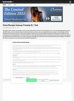 Mesa/Boogie Subway Preamp D.I.