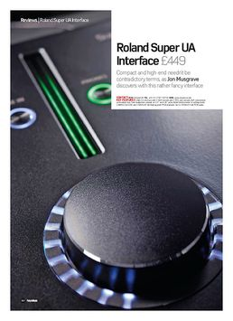 Roland Super UA Interface