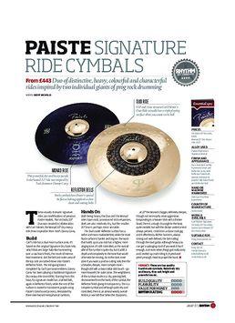 Paiste Signature Ride Cymbals
