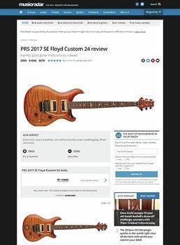 PRS 2017 SE Floyd Custom 24