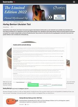 Harley Benton Ukulelen